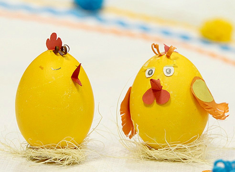 Поделка на пасху своими руками яйца